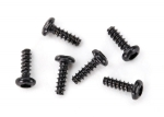 6644 Screws, 1.6x5mm button-head, self-tapping (hex drive) (6)