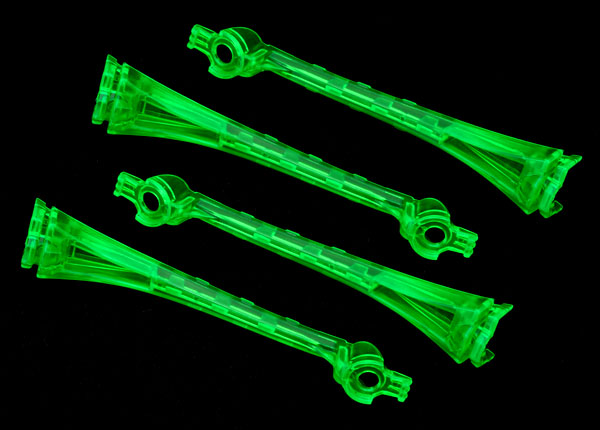Traxxas 6654 LED lens ,  green (4)