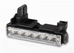 6655 LED light bar, Alias®/ harness (7 clear lights)/ 1.6x5mm BCS (self-tapping) (2)