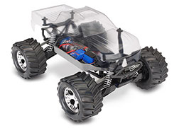 67014-4 Stampede® 4X4 Unassembled Kit: 1/10-scale 4WD Monster Truck with TQ 2.4GHz radio system