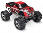 Red  Stampede® 4X4: 1/10-scale 4WD Monster Truck