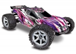 PINK, PURPLE Rustler® 4X4 VXL:  1/10 Scale Stadium Truck. Ready-to-Race® with TQi Traxxas Link™ Enabled 2.4GHz Radio System, Velineon® VXL-3s brushless ESC (fwd/rev), and Traxxas Stability Management (TSM)®