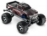 Black Stampede 4X4 VXL:  1/10 Scale Monster Truck with TQi Traxxas Link Enabled 2.4GHz Radio System & Traxxas Stability Management (TSM)