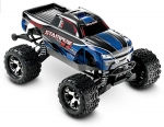 BLUE Stampede 4X4 VXL:  1/10 Scale Monster Truck with TQi Traxxas Link Enabled 2.4GHz Radio System & Traxxas Stability Management (TSM)