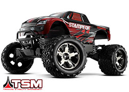 67086-4 Stampede® 4X4 VXL: 1/10 Scale Monster Truck with TQi Traxxas Link™ Enabled 2.4GHz Radio System & Traxxas Stability Management (TSM)®