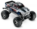 Silver Stampede® 4X4 VXL: 1/10 Scale Monster Truck with TQi Traxxas Link™ Enabled 2.4GHz Radio System & Traxxas Stability Management (TSM)