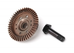 6778 Ring gear, differential/ pinion gear, differential (12/47 ratio) (front)