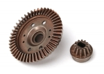 6779 Ring gear, differential/ pinion gear, differential (12/47 ratio) (rear)