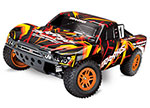 ORANGE/RED Slash 4X4: 1/10 Scale 4WD Electric Short Course Truck with TQ 2.4GHz Radio System