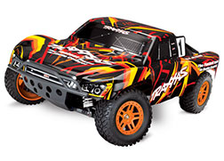 68054-4 Slash 4X4: 1/10 Scale 4WD Electric Short Course Truck with TQ 2.4GHz Radio System