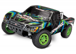 GREEN Slash 4X4: 1/10 Scale 4WD Electric Short Course Truck with TQ 2.4GHz Radio System