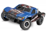 Blue Slash 4X4 Ultimate:  1/10 Scale 4WD Electric Short Course Truck with TQi Radio System, Traxxas Link Wireless Module, On-Board Audio, & Traxxas Stability Management (TSM)