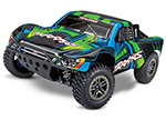 Green Slash 4X4 Ultimate:  1/10 Scale 4WD Electric Short Course Truck with TQi Radio System, Traxxas Link Wireless Module, & Traxxas Stability Managment (TSM)