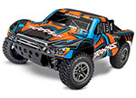 Orange Slash 4X4 Ultimate:  1/10 Scale 4WD Electric Short Course Truck with TQi Radio System, Traxxas Link Wireless Module, & Traxxas Stability Managment (TSM)