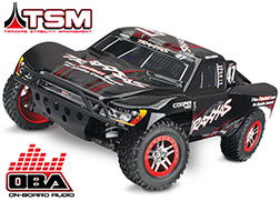 68086-24 Slash 4X4 VXL: 1/10 Scale 4WD Electric Short Course Truck with TQi Traxxas Link™ Enabled 2.4GHz Radio System, On-Board Audio, & Traxxas Stability Management (TSM)®