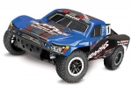 Traxxas BLUE Slash 4X4: 1/10 Scale 4WD Electric Short Course Truck with TQi Traxxas Link Enabled 2.4GHz Radio System, On-Board Audio, & Traxxas Stability Management (TSM)®