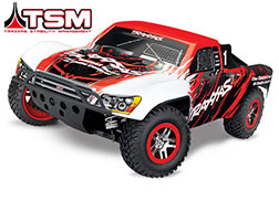 68086-4 Slash 4X4: 1/10 Scale 4WD Electric Short Course Truck with TQi Traxxas Link™ Enabled 2.4GHz Radio System & Traxxas Stability Management (TSM)®
