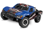 Blue Slash 4X4: 1/10 Scale 4WD Electric Short Course Truck with TQi Traxxas Link™ Enabled 2.4GHz Radio System & Traxxas Stability Management (TSM)®