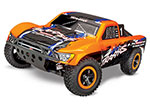 Orange Slash 4X4 VXL: 1/10 Scale 4WD Electric Short Course Truck with TQi Traxxas Link™ Enabled 2.4GHz Radio System & Traxxas Stability Management (TSM)®