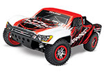 Red Slash 4X4 VXL: 1/10 Scale 4WD Electric Short Course Truck with TQi Traxxas Link™ Enabled 2.4GHz Radio System & Traxxas Stability Management (TSM)®