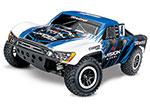 Vision Kincaid Slash 4X4: 1/10 Scale 4WD Electric Short Course Truck with TQi Traxxas Link™ Enabled 2.4GHz Radio System & Traxxas Stability Management (TSM)®