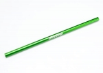6855G Driveshaft, center, 6061-T6 aluminum (green-anodized)