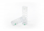6866 Springs, rear (progressive, -10% rate, green) (2)