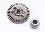 6879 Ring gear, differential/ pinion gear, differential (rear)