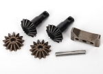 6882X Gear set, differential (output gears (2)/ spider gears (2)/ spider gear shaft, carrier support)