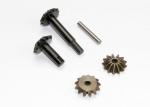 6883 Gear set, center differential (output gears (2)/ spider gears (2)/ spider gear shaft)