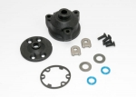 6884 Housing, center differential/ x-ring gaskets (2)/ ring gear gasket/ bushings (2)/ 5x10x0.5 TW (2)/ CCS 2.5x8 (4)