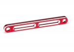 6923R Tie bar, front, aluminum (red-anodized)