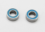 7019 Ball bearings, blue rubber sealed (4x8x3mm) (2)