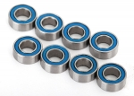 7019R Ball bearings, blue rubber sealed (4x8x3mm) (8)