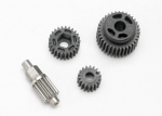 7093 Gear set, transmission (includes 18T, 25T input gears, 13T idler gear (steel), 35T output gear, M3x13.75 screw pin)