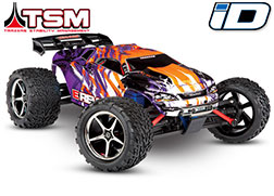 71076-3 E-Revo® VXL: 1/16-Scale 4WD Racing Monster Truck with TQi Traxxas Link™ Enabled 2.4GHz Radio System & Traxxas Stability Management (TSM)®