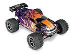 PURPLE E-Revo® VXL: 1/16-Scale 4WD Racing Monster Truck with TQi Traxxas Link™ Enabled 2.4GHz Radio System & Traxxas Stability Management (TSM)