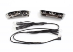 7186 LED lights, light harness (4 clear, 4 red)/ bumpers, front & rear/ wire ties (3)  (requires power supply #7286)