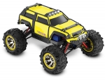 Yellow Summit VXL: 1/16-Scale 4WD Electric Extreme Terrain Monster Truck with TQ 2.4GHz radio system