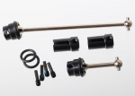 7250R Driveshafts, center (steel constant-velocity) front (1), rear (1) (fully assembled)