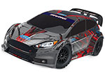 Ford Fiesta® ST Rally: 1/10-scale Electric Rally Racer. Ready-To-Race® with TQ 2.4GHz radio system and XL-5 ESC (fwd/rev)