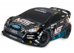 NOS, Brian Deeg Ford Fiesta® ST Rally: 1/10-scale Electric Rally Racer with Officially Licensed Painted Body. Ready-To-Race® with TQ 2.4GHz radio system and XL-5 ESC (fwd/rev).  Includes: 7-Cell NiMH 3000mAh Traxxas battery