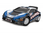Blue Rally VXL:  1/10 Scale Brushless Rally Racer with TQi Traxxas Link Enabled 2.4GHz Radio System