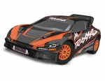 Orange Rally VXL:  1/10 Scale Brushless Rally Racer with TQi Traxxas Link Enabled 2.4GHz Radio System