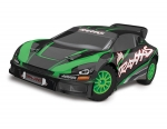 Green Rally VXL:  1/10 Scale Brushless Rally Racer with TQi Traxxas Link Enabled 2.4GHz Radio System & Traxxas Stability Management (TSM)
