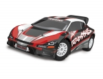 Red Rally VXL:  1/10 Scale Brushless Rally Racer with TQi Traxxas Link Enabled 2.4GHz Radio System & Traxxas Stability Management (TSM)