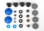 7463 Rebuild kit, GTR long/xx-long shocks (x-rings, bladders, pistons, piston nuts, shock rod ends, hollow balls) (renews 2 shocks)