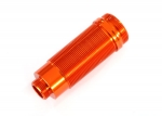 7467A Body, GTR xx-long shock, aluminum (orange-anodized) (PTFE-coated bodies) (1)