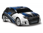BLUE LaTrax Rally: 1/18 Scale 4WD Electric Rally Racer