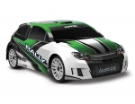 GREEN LaTrax® Rally: 1/18 Scale 4WD Electric Rally Racer